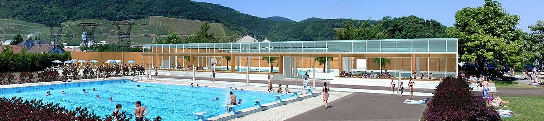 Perspectives et images de synthese pour l architecture l for Horaire piscine thann